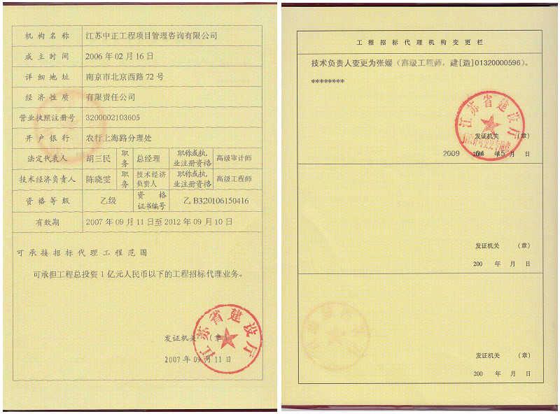 江苏省电力设计院梅山招标代理项目